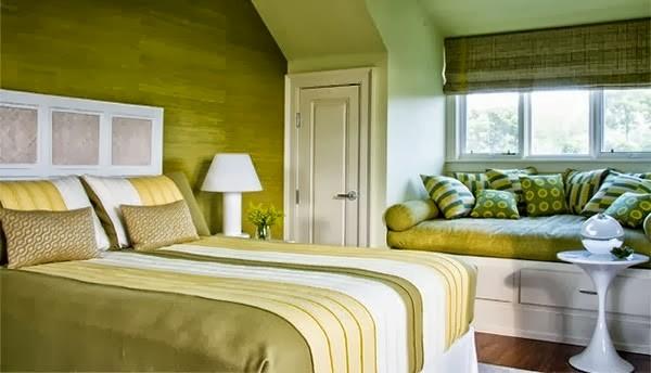 warna cat kamar tidur hijau toska 6