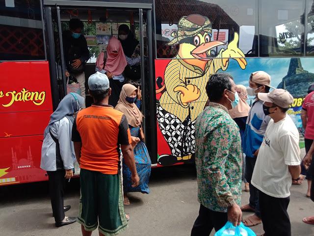 Trans Jateng Kutoarjo Borobudur