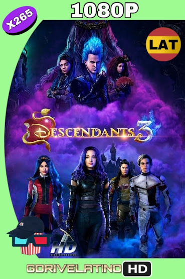 Los Descendientes 3 (2019) WEBRip 1080p X265 Latino-Ingles MKV
