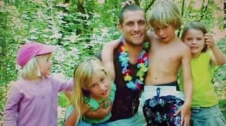 Alex Wood and children
