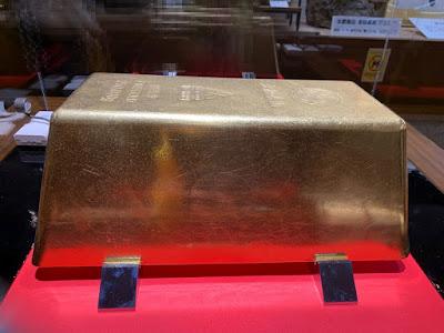 ギネス認定の巨大金塊