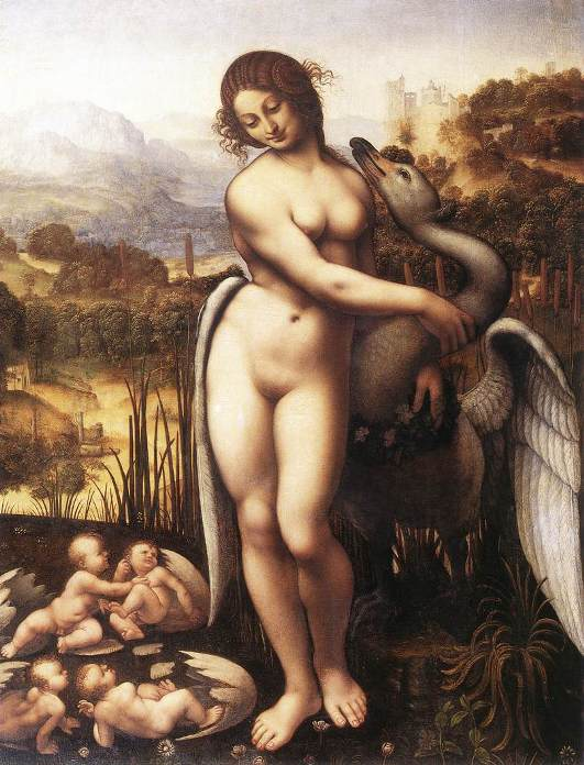 Leda and the Swan (1505-10), lost