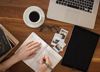 gambar Cara paling mudah menulis 5-7 artikel disetiap harinya untuk mengisi konten blog