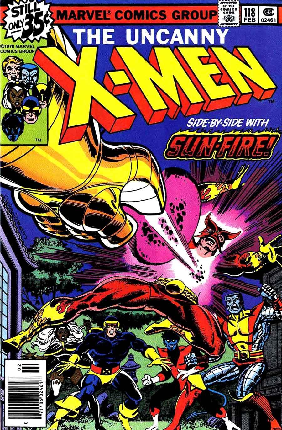 X-men v1 #118 marvel comic book cover art by John Byrne
