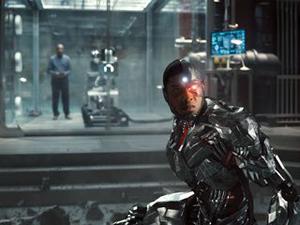 Cyborg mejorado en la versión de Snyder