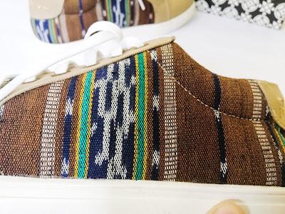 sepatu etnik the warna