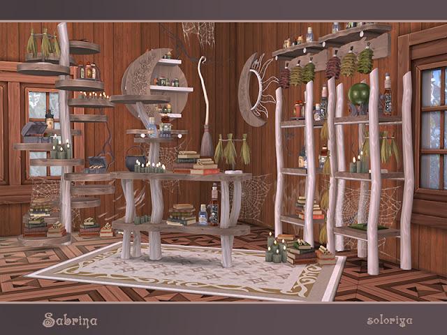 Подборка модов мебели и декора для создания магических салонов, жилищ магов и чародеев, ведьминских чертогов и волшебных лавок.