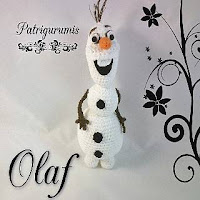 PATRON OLAF | FROZEN AMIGURUMI 27573