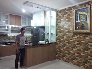 Contoh Dapur Minimalis 1 Premier Terrace Jakarta Timur