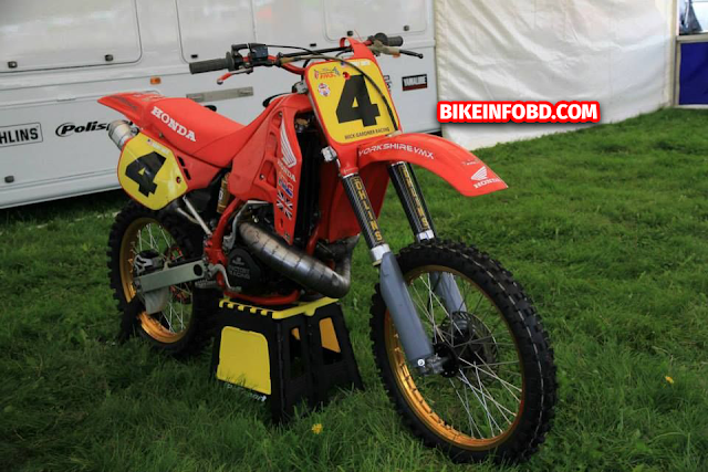 honda cr500 top speed