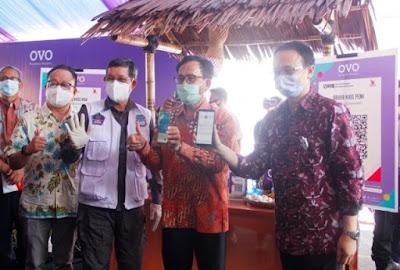 Digitalisasi Pasar Tradisional Kerjasama OVO. Walikota : Ini Langkah Maju Kota Manado
