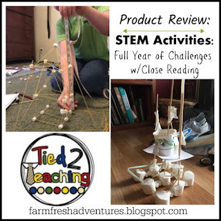 Tied 2 Teaching~ STEM Activities...a Full Year! (Product Review)