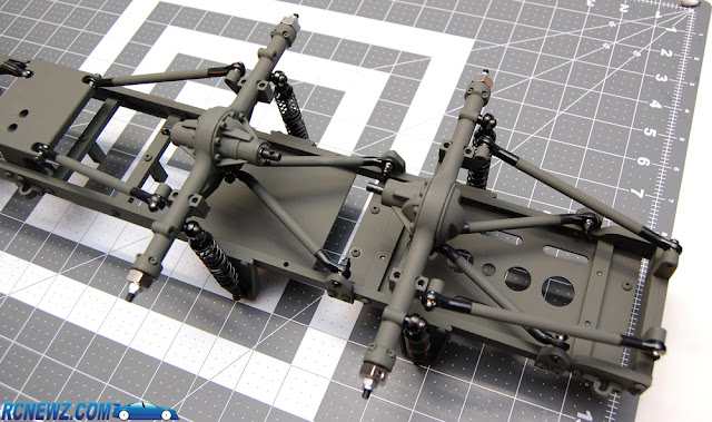 RC4WD Beast 2 rear axles