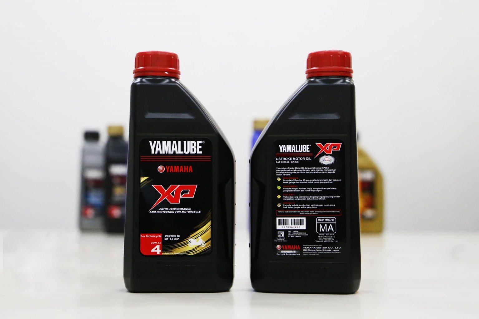 Yamaha Indonesia resmi merilis Yamalube XP-50 untuk motor Yamaha produksi 2010 ke bawah