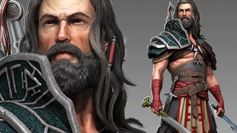 Male Character Creation in Zbrush