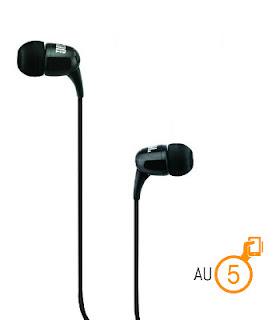 JBL T100 In Ear Headphone with Mic