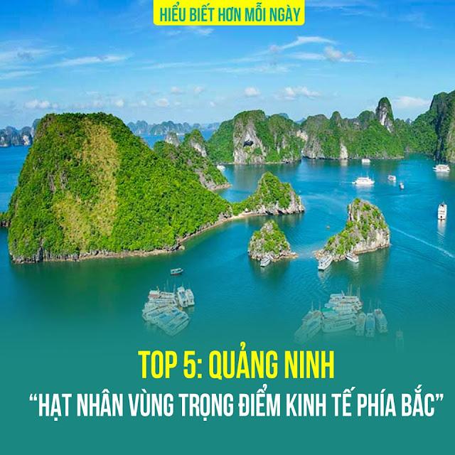 Top 5: Quảng Ninh – Hạt nhân vùng trọng điểm kinh tế phía Bắc