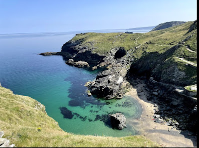 Views from Tintagel Castle, Cornwall