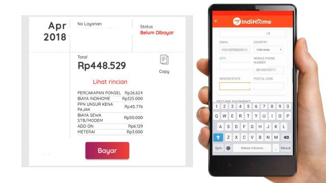 Cek Tagihan Wifi Via Aplikasi MyIndihome