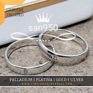 cincin kawin platinum terbaru