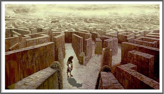 laberinto y minotauro