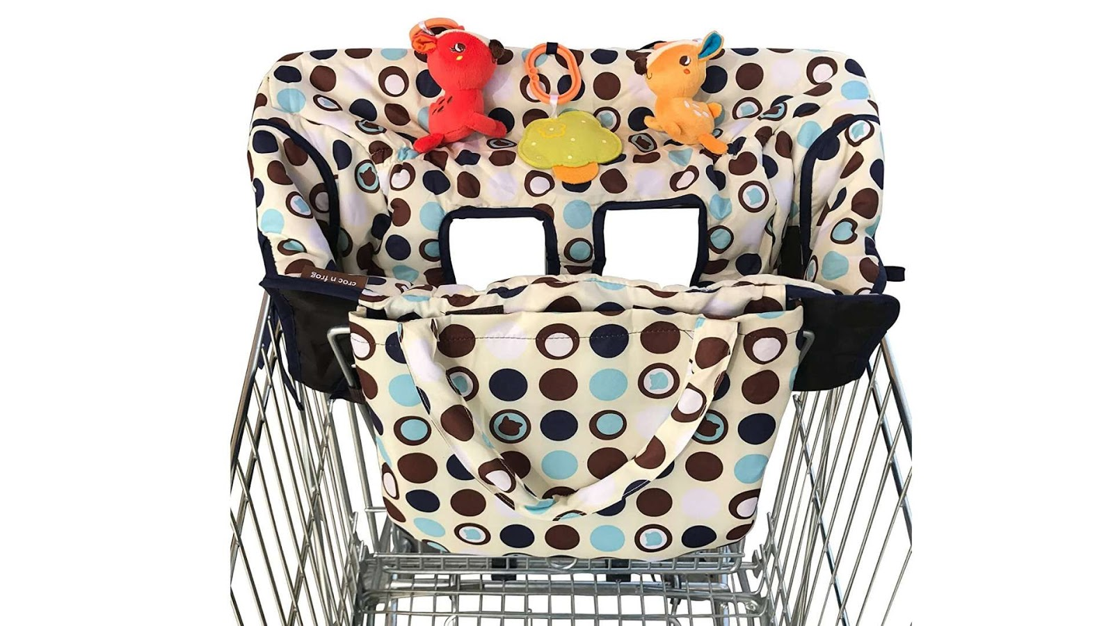 Shopping cart cover for newborn babies 5