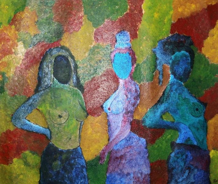 Nude kynya african art