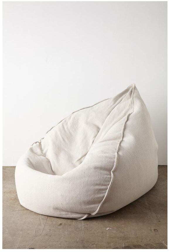 best light grey giant bean bag jumbo cord outfitter lounge chair for living room, and family room 2