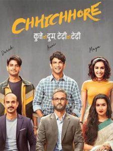 Chhichhore 2019 Hindi 480p Pre DVDRip 400MB