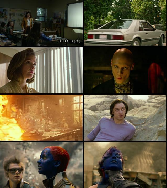 X-Men Apocalypse 2016 English 480p BRRip