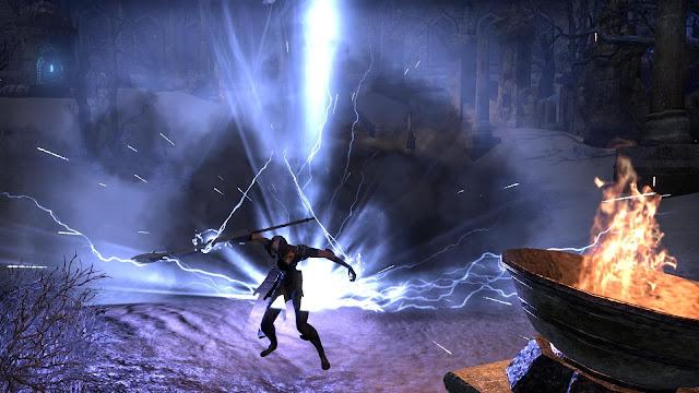 ESO Sorcerer Class Storm Calling