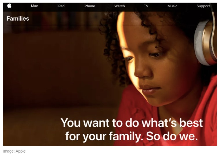 Apple's New Families Page Puts All Parental Control Tools in one Place
