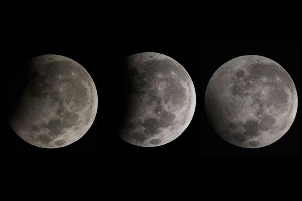 bentuk bulan berubah - ubah