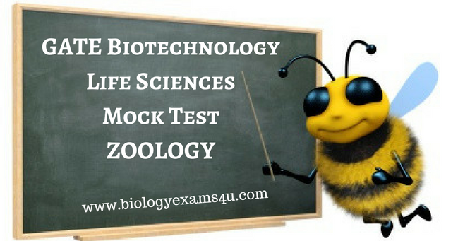 GATE Biotechnology Life Sciences Mock Test - Zoology Practice Test