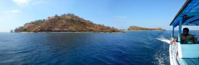 De camino a la primera isla