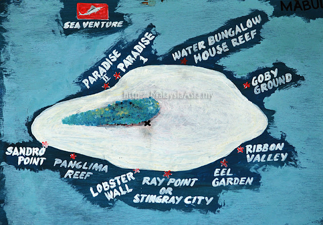 Dive Sites Mabul Island
