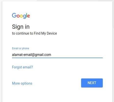 menemukan smartphone android yang hilang