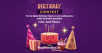 Birthday Contest