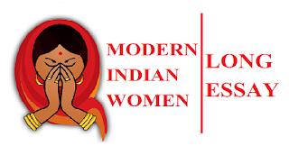 ESSAY ON MODERN INDIAN WOMEN