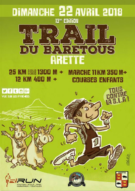 Trail du Barétous Arette 2018