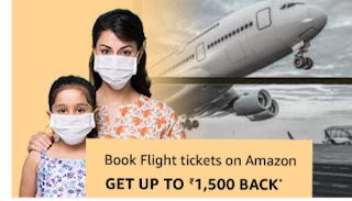 Amazon flight booking offer
