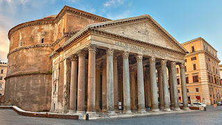 The Pantheon in Rome - Courtesy Unsplash.com