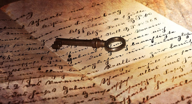 Image: Old Handwriting, by Petra Österreich on Pixabay