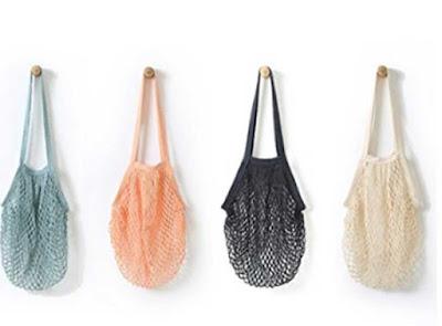 bolsos de red para la playa