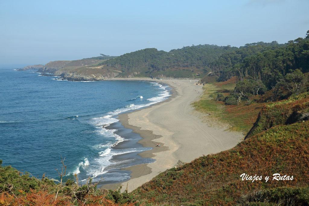 Playa de Frexulfe, Asturias