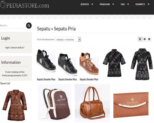 Fashion Online, Pediastore.com