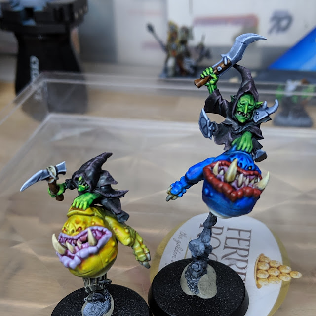 The squig hoppers I tested my notes on