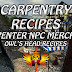 Owl's Head Recipes • Carpentry Recipes • Carpenter NPC Merchant • Shroud Of The Avatar Recipes