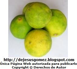 Foto de limones de Jesus Gómez
