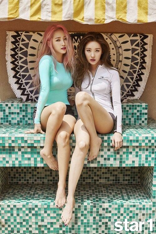 01e08042e74ed Wonder Girls Pose In Swimsuit For Star1 | Daily K Pop News